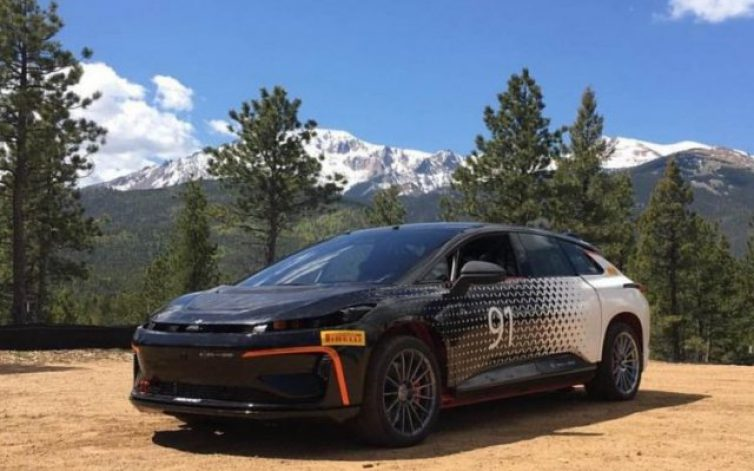 A Pikes Peakre megy a Faraday Future is