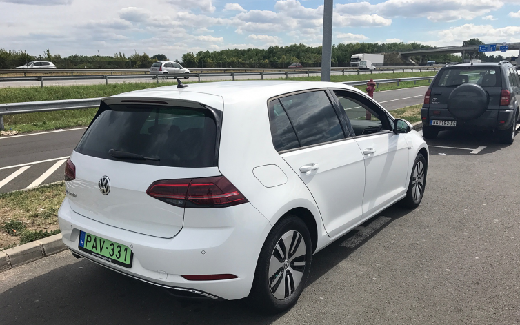 e-Golf roadtrip #1
