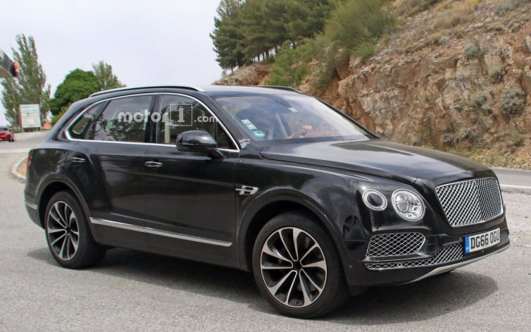 A Plug-In Hybrid Bentley Bentayga