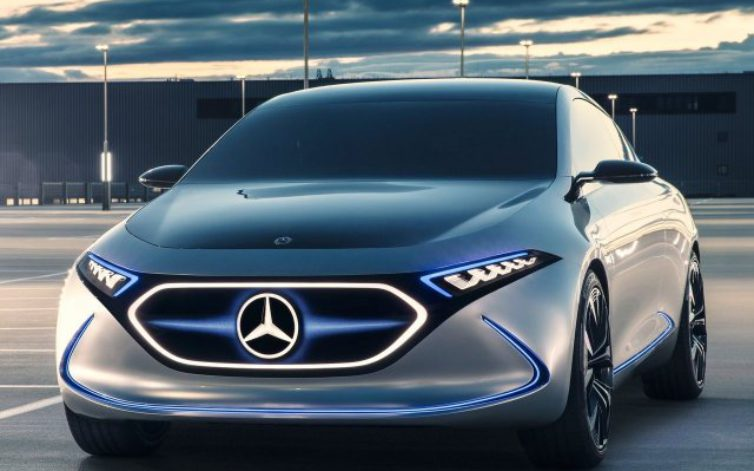 Mercedes Concept EQA – vele nyomnák le a Tesla Model 3-at