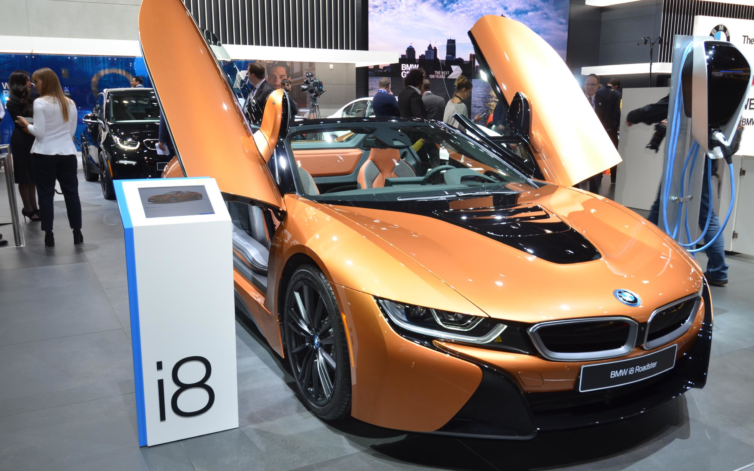 BMW i8 és i8 Roadster a NAIAS-on