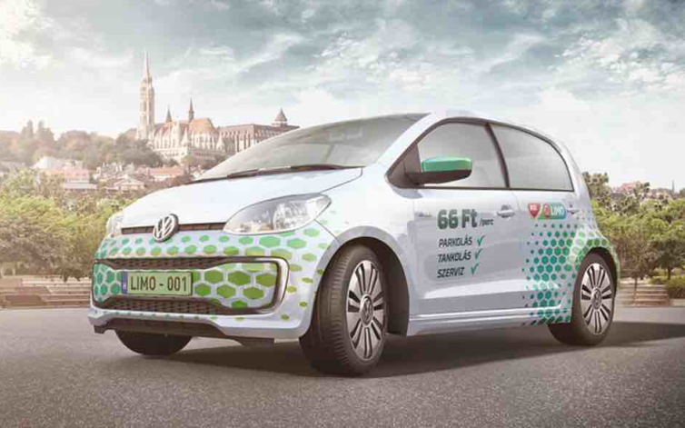 MOL Limo: 300 Volkswagen up! a flottában