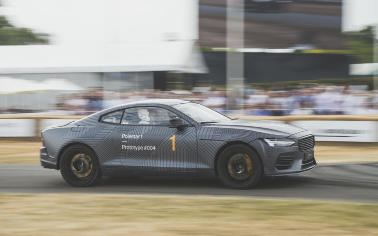 Tesla Model 3, Polestar 1, MINI E: Goodwood Festival of Speed 2018